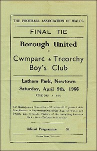 Welsh Youth Cup Final 1966 jpg