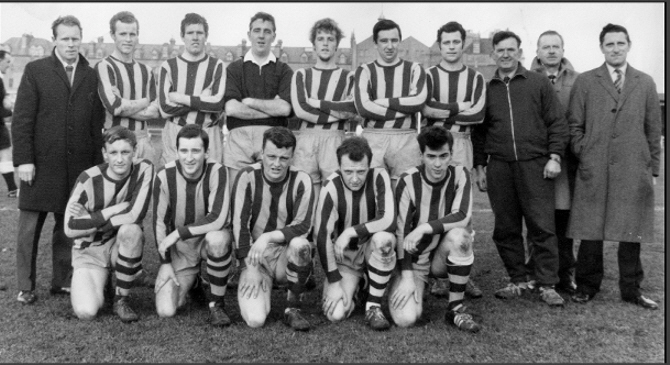 Team on Council Field 1965-66 ammended